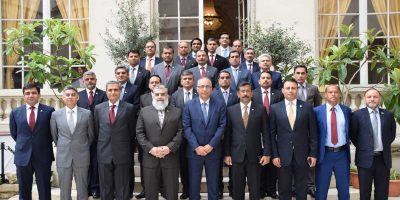 pic 22 member delegaton of NDU visited to Paris
