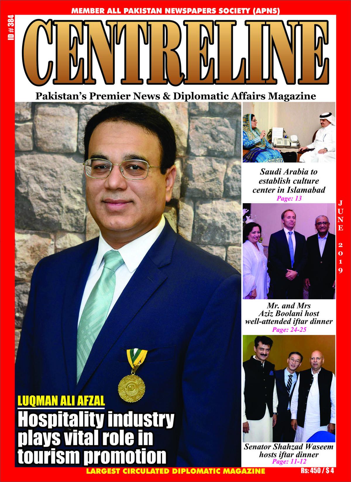LUQMAN ALI AFZAL Hospitality industry vital role in tourism