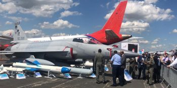 PIC Pak JF-17 Thunder spectacular performance at Paris Airshow