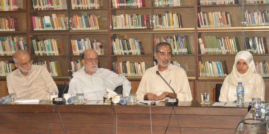 PR06092019 - IPS session 'Kashmir under Seige'