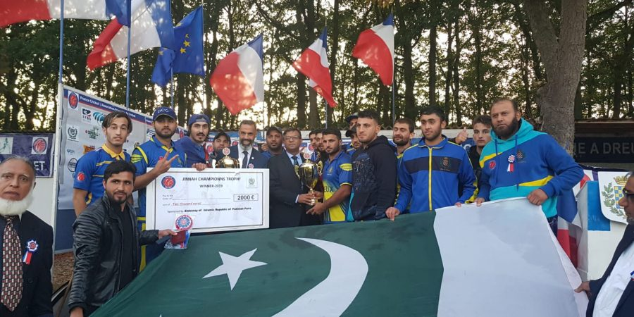 Pic 4-edition of Jinnah trophy Cricket tournament held in Dreux