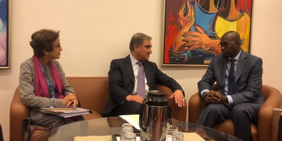 Pic Foreign Minister meets the President Human Rights Council