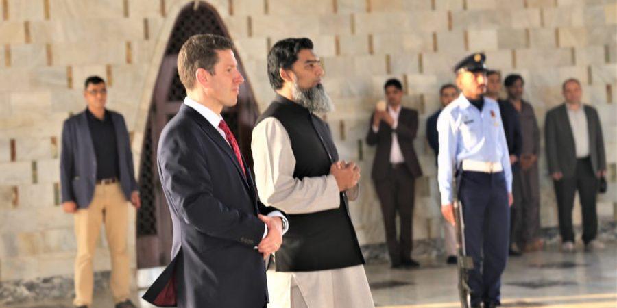 Dr Christian Turner at Mazar-e-Quaid Pic3