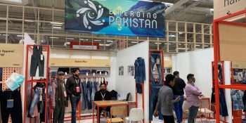 Pic 21 Pakistani textile companies participated in Texworld held in Paris