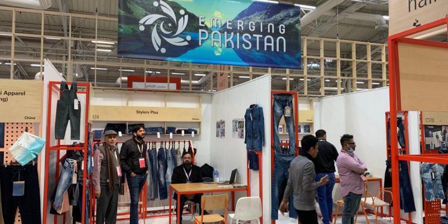 Pic 21 Pakistani textile companies participated in Texworld held in Paris